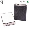 8000mah qi wireless power bank charger mobile phone charging powerbank with TI solution chip china wholesale