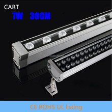 CART 0.3M 7W LED Wall Washer Landscape light AC 85V-265V outdoor lights wall linear lamp DMX RGB IP65 wall washer