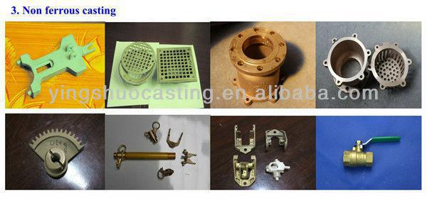 grey cast iron and ductile iron material flange couplings