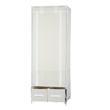 High quality singe door portable non woven pet wardrobe for sale