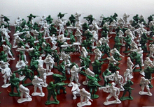 1:32 plastic toy soldiers for sand table game,Factory make plastic game toy soldiers, shenzhen making plastic soldiers toys