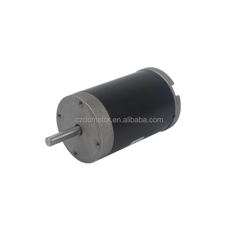 Cheap price 24 volt 30w brushed dc electric motor in india 60ZYT-02A24