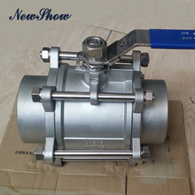 allibaba com hydraulic control casting threaded npt bspt ss valves 316 stainless steel 3 pc ball valve