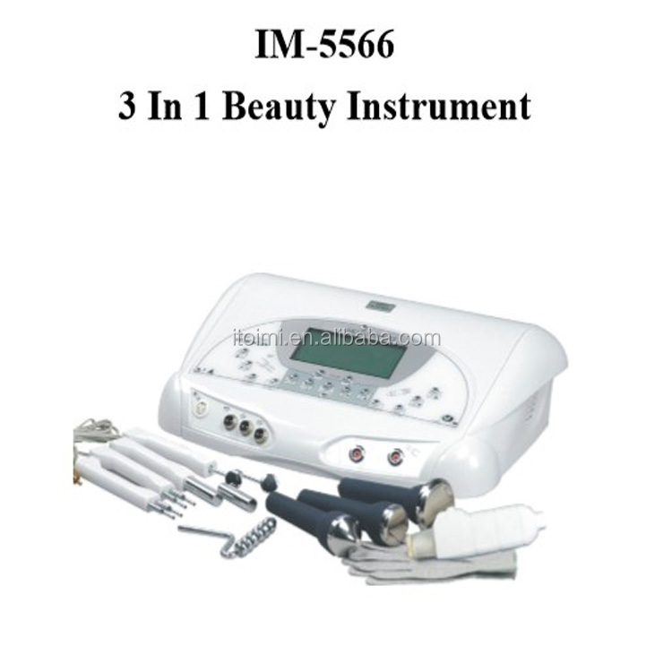 3 in 1 face master machine bio wave skin care device facial cleaning ultrasonic scrubber peeling device IM5566