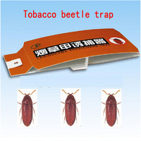 Moth lure trap,Lasioderma serricorne paper glue trap for agriculture
