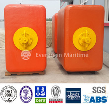 square type ball shape marine buoy fender, foam boat fender