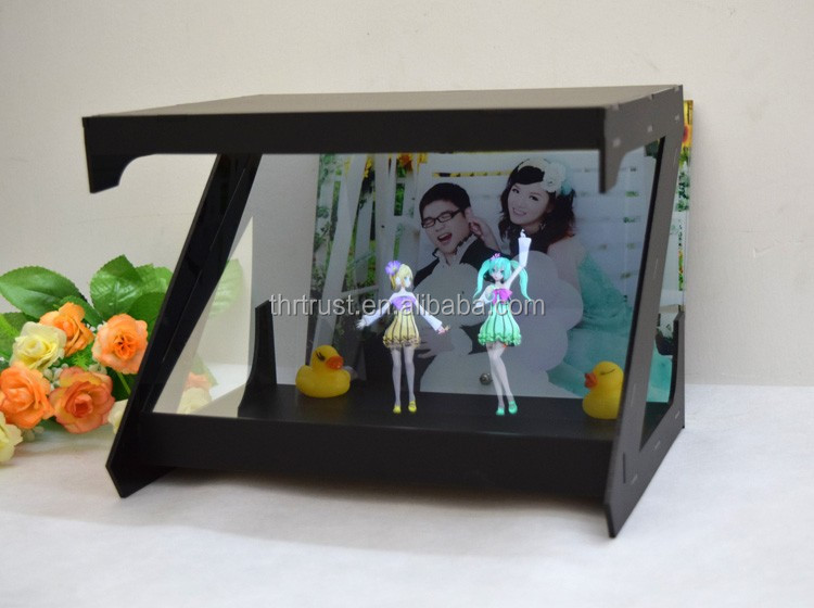 2017 Trendy wonderful 180 degrees holographic 3d showcase , holographic 3d display box ,holographic 3d equipment for exhibition