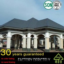 real best quality Lightweight import building material from China roofing metal sheets colorful Chinese roof tiles