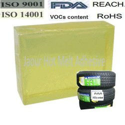 Hot melt adhesive for sticker for tyre label