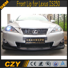 Front Bumper Extension PU IS250 Front Lip for Lexus IS250 2011Up