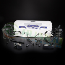 Wristband and MP3 functions ion detox foot spa machine for body detoxification with 2 arrays