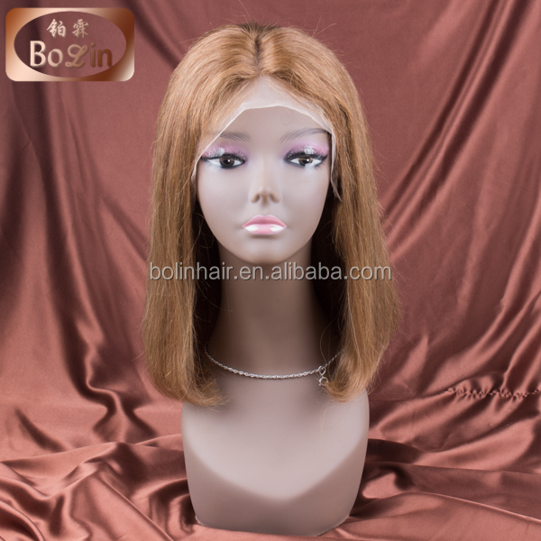 New Style Remy Indian bob wig Short bob style human hair full lace wig for black women