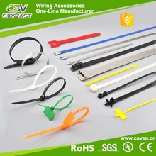 Free sample 4'' 6'' 8'' 10'' length zip tie Nylon66 plastic tie self locking numbered cable tie sizes