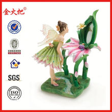 2014 Resin pretty angel fairy figurine statue gift craft