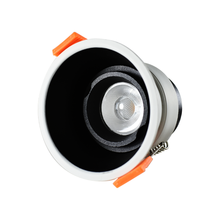 High CRI 97 Ceiling lighting 84*H85mm Recessed Hotel Project IP64 7W 12W Round Cob Led <strong>Downlight</strong>