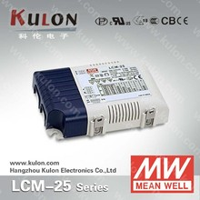 MW PFC constant current dimmable led driver LCM-25-350 25W 350mA
