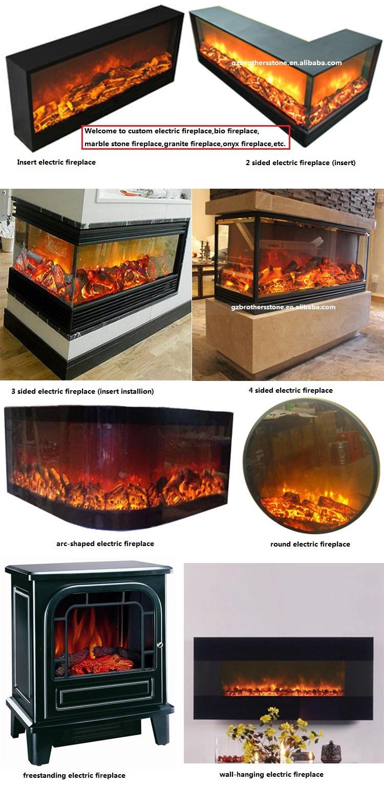 Insert Installation Multi Sided Fireplace Type 2 Sided Electric Fireplace Buy 2 Sided Electric
