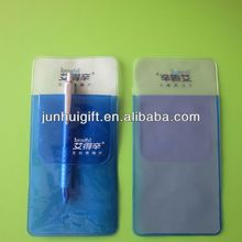 various shaped with high quality clear pvc pen bag