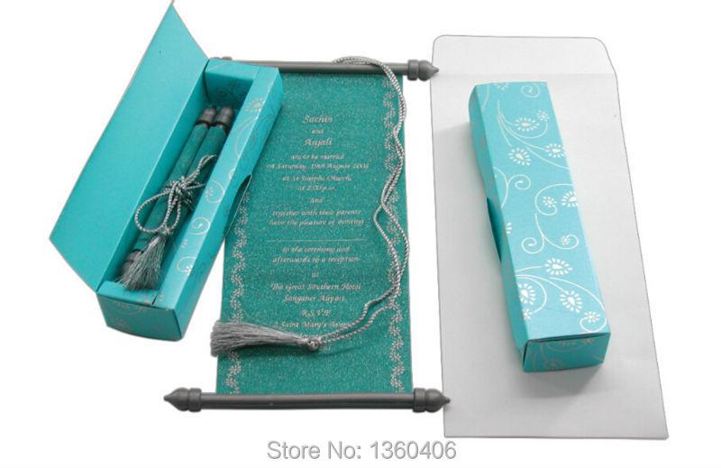 Buy Scroll Wedding Invitations Card Wholesale Party Wedding India