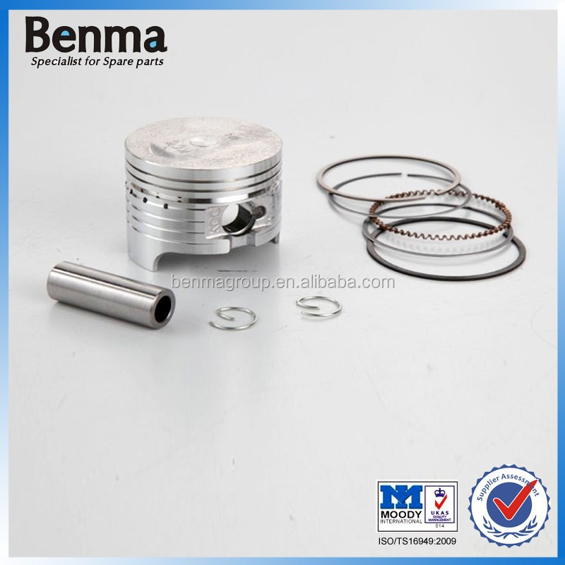 Chinese supplier motorcycle pistons and rings KCC,low expansion coefficient rings
