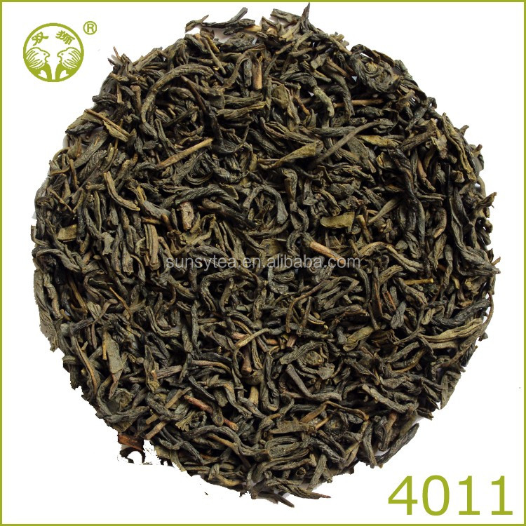 Refine chinese best green tea Chunmee Green Tea 4011 tea