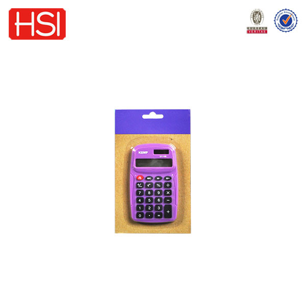 stationery battery charged electronic calculator with flash memory card