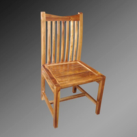 Tuban Design Dining Chair with vertical slats