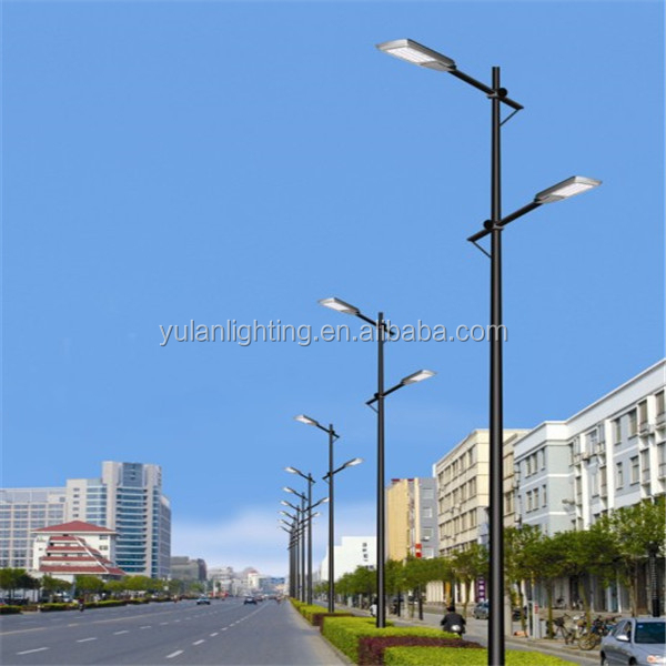 Q235 commercial lamp post/ utility brass poles/electrical poles in uae
