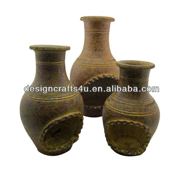 garden terracotta outdoor chimenea