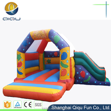Christmas factory direct price inflatable bounce house combo with slide for sale,inflatable combo bouncy jumping castle for kids