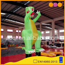 Advertising inflatables dinosaur air dancer inflatable for sale