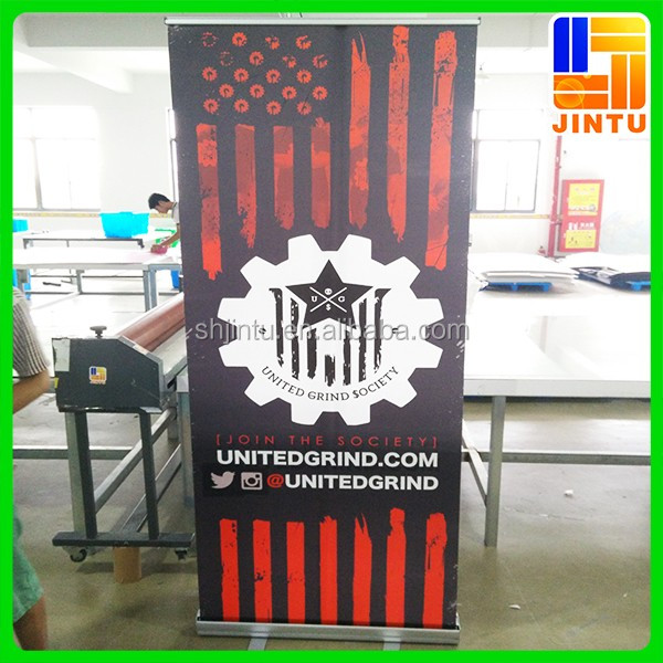 outdoor advertising display roll up banner