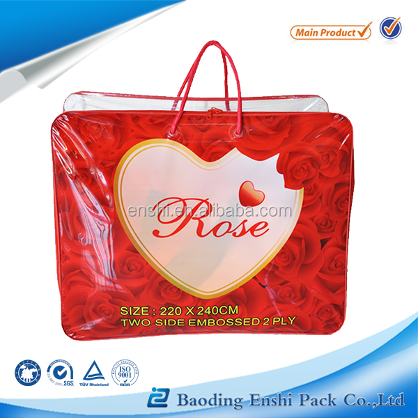 Accept Custom Order and Screen Printing Surface Handling plastic wire bag