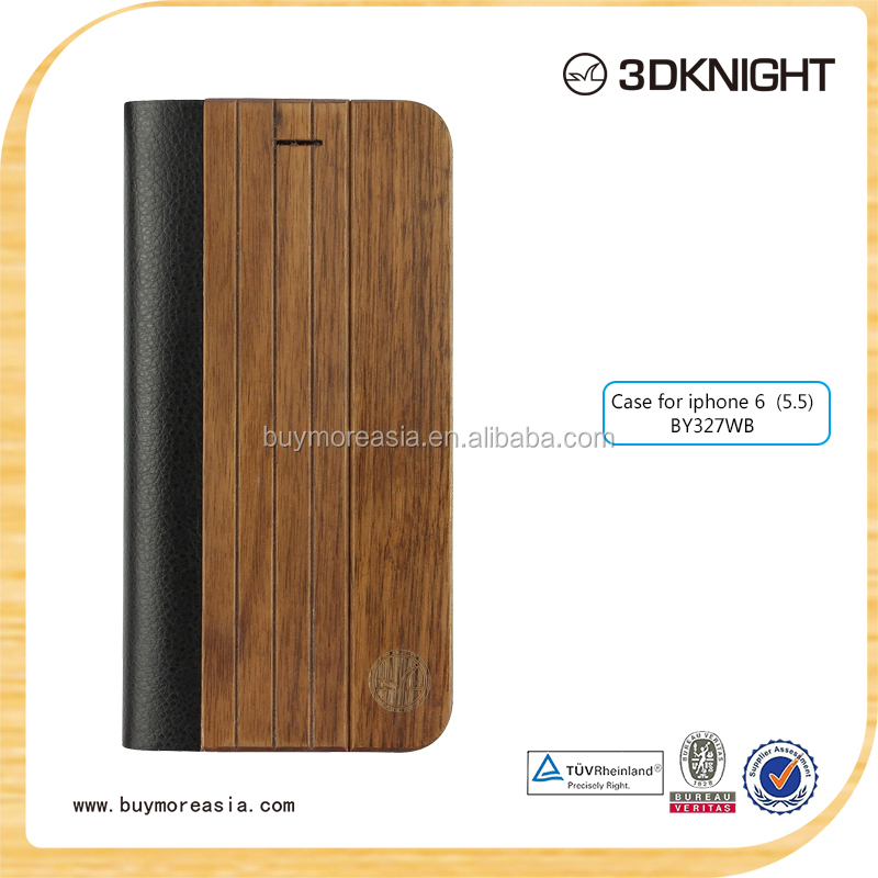 High Quality For Apple Iphone 6S Case Wood Accessories,Wood Case For i phone 6S,Wood Flip Mobile Phone Case For Apple 6S