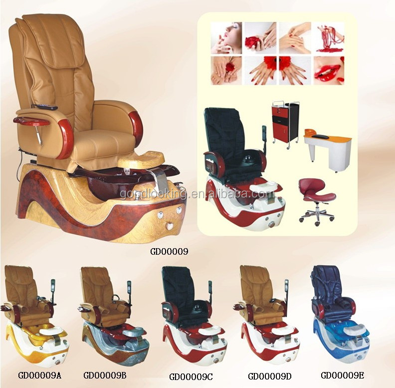 Hot-selling fashion design luxury foot pedicure spa massage chairs