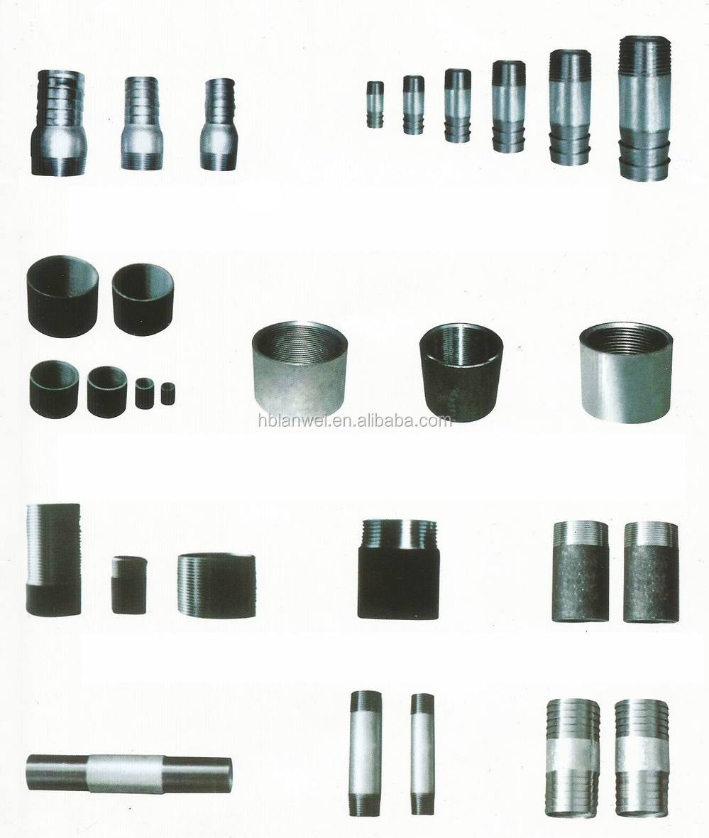 carbon steel pipe nipple Alibaba express pipes and fittings