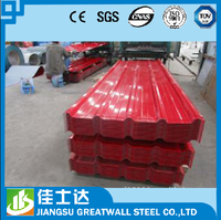 color coated gi sheet/Aluminium Zinc Corrugated Steel Sheet/galvalume metal roofing colors