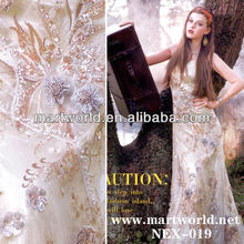 Hot!!! 2014 mermaid wedding gown(NEX-019)