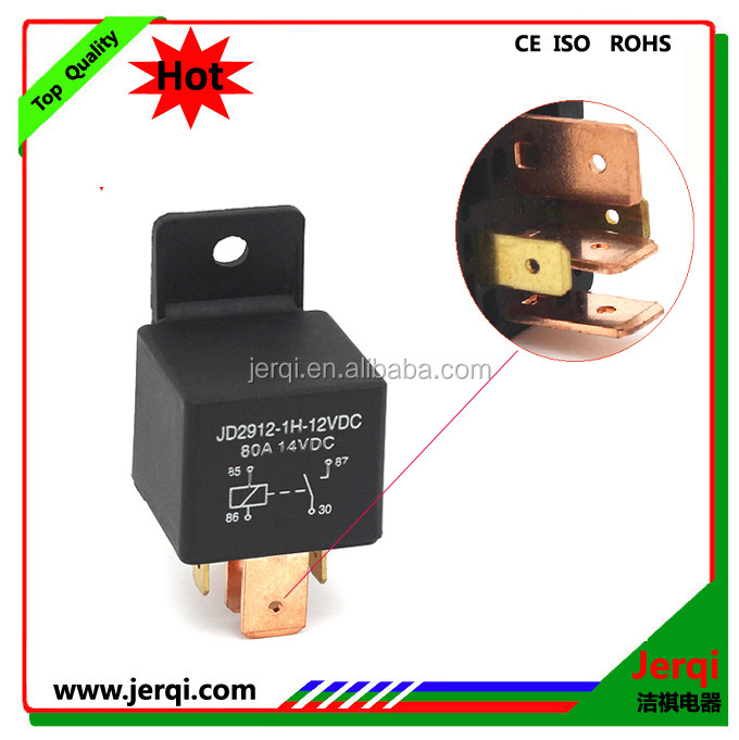 24V high current 70A auto relay