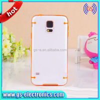 for Samsung galaxy S5 i9600 Crystal transparent PC + TPU luminous glow back cover phone case