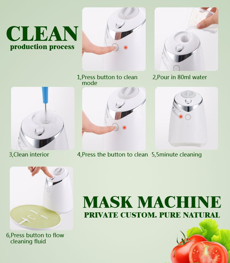 Face mask machine DIY voice version fruit and vegetable facial mask maker machine