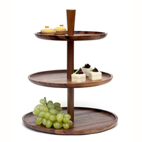 Japanese Double Cake Plate Fruit Cake Plate Ash tray 3 tier cake stand