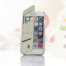 White fashion China mobile phone accessories leather case