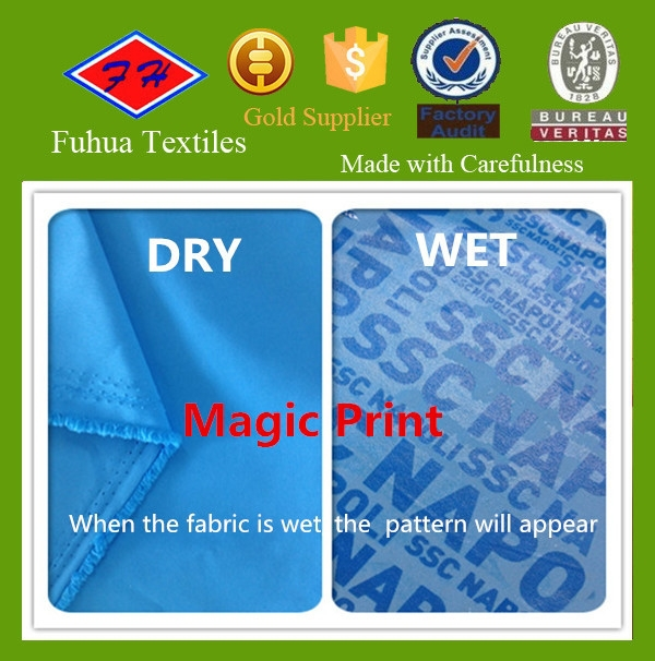Magic Print Beachwear Polyester Fabric