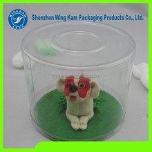 Dog toy display round box with print