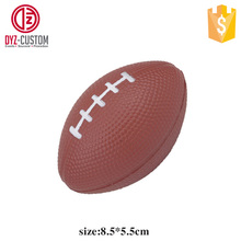 Promotion American football rugby shape pu foam stress ball