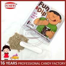 Cola Flavor Tablet Stick Candy with Sour Powder