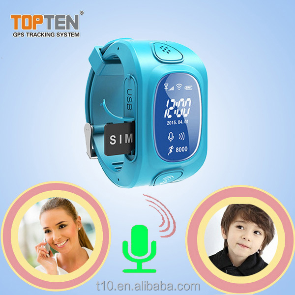 gps tracker inteligente for personal kid with watch design