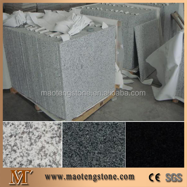 Interior And Outdoor Grey Granite Tile,Cheap Granite White G603 Quarry