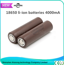 High quality original 30A li-ion battery 18650 3000mah battery 4000mah rechargeable